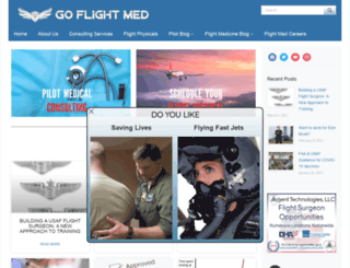 goflightmedicine.com screenshot