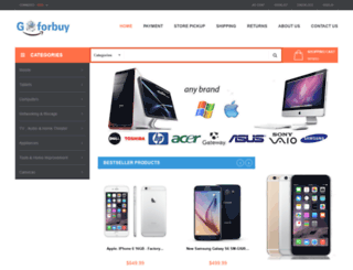 goforbuy.com screenshot