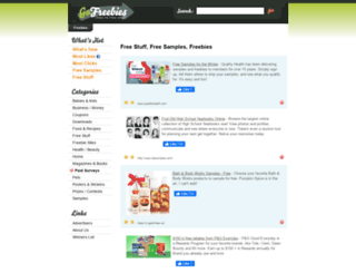 gofreebies.com screenshot