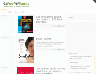 gofreepdfebooks.com screenshot