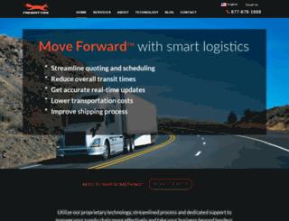 gofreightfox.com screenshot
