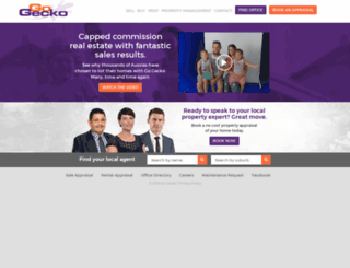 gogecko.com.au screenshot