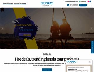 gogeoholidays.com screenshot