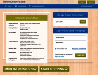 gogetdelivery.com screenshot