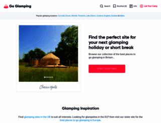 goglamping.net screenshot