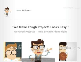 gogoodprojects.com screenshot