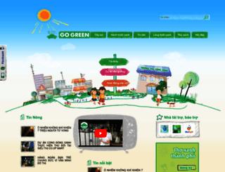 gogreen.com.vn screenshot