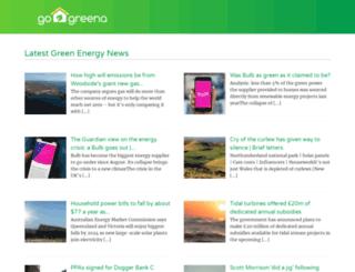 gogreena.co.uk screenshot