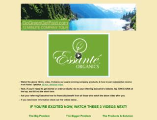 gogreengetpaid.com screenshot