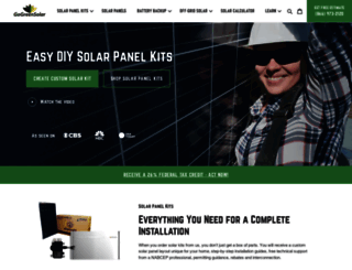 gogreensolar.com screenshot