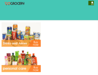 gogrocerry.com screenshot