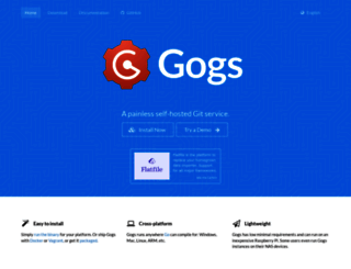 gogs.io screenshot