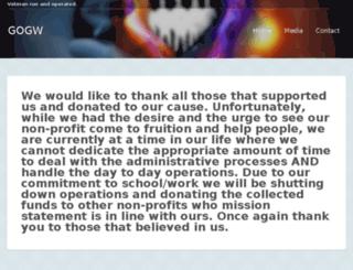 gogw.org screenshot