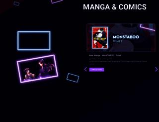 gohanblog.fr screenshot