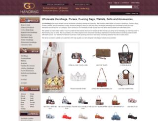 gohandbag.com screenshot