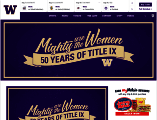gohuskies.com screenshot
