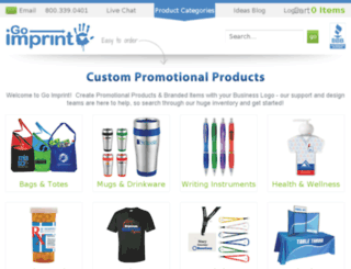 goimprint.com screenshot