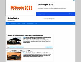 goingelectric.de screenshot