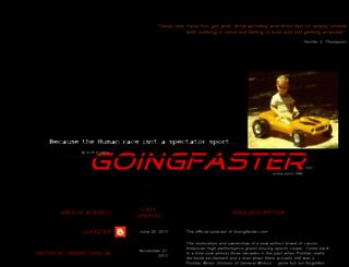 goingfaster.com screenshot