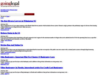 goinglegal.com screenshot