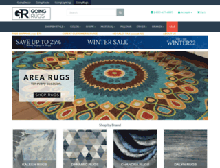 goingrugs.com screenshot