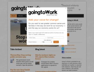goingtowork.org.uk screenshot