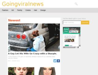 goingviralnews.info screenshot