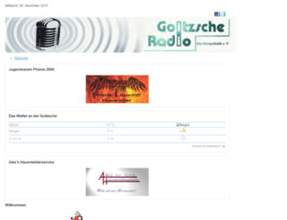 goitzsche-radio.de screenshot