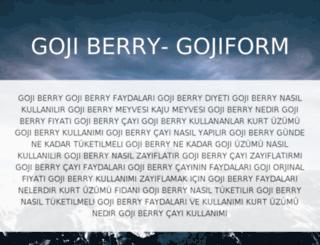 gojiform.com screenshot