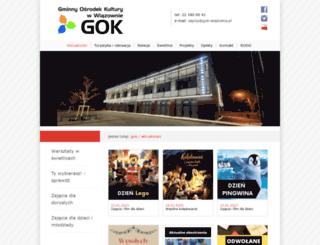 gok-wiazowna.pl screenshot