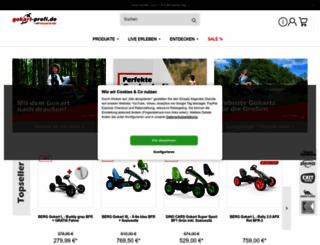 gokart-profi.de screenshot