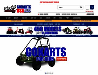 gokartsusa.com screenshot