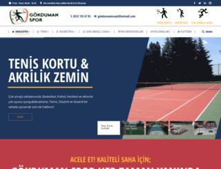 gokdumanspor.com screenshot