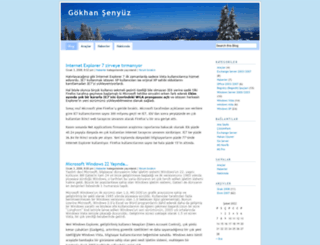 gokhansenyuz.wordpress.com screenshot
