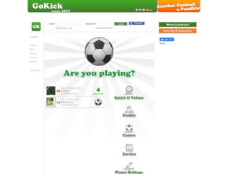 gokick.org screenshot