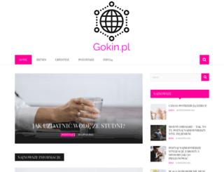 gokin.pl screenshot