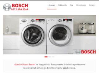 gokturkboschservisi.com screenshot