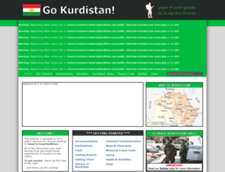 gokurdistan.com screenshot