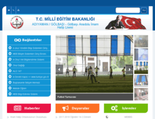 golbasi02ihl.meb.k12.tr screenshot