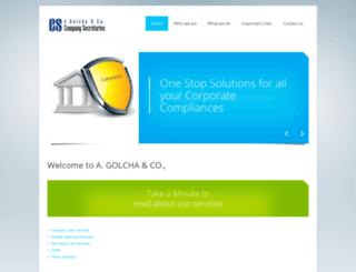 golchaandco.com screenshot