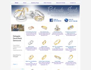 golcondajewels.com screenshot