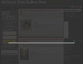 gold-bullion-bars.coins-n-collectibles.com screenshot