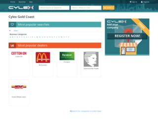 gold-coast.cylex.com.au screenshot