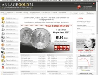 gold-kaufen.versand.ws screenshot