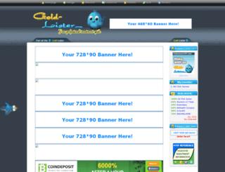 gold-lister.com screenshot