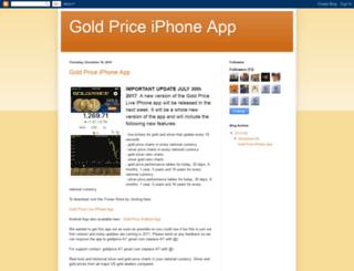 gold-price-iphone-app.goldprice.org screenshot
