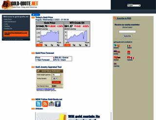 gold-quote.net screenshot