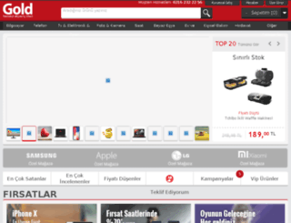 gold.com.tr screenshot