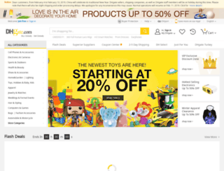 gold.dhgate.com screenshot