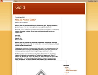 gold.goldprice.org screenshot